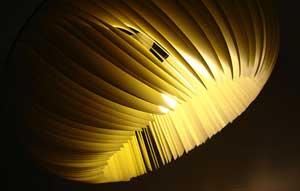 светильник из бумаги