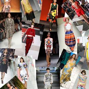 Мода весна лето 2014