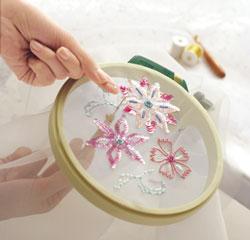 ручное вышивание