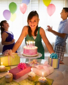 как устроить для девочки подростка день рождение