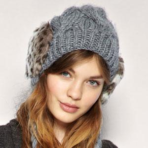 зимние шапки для девушек