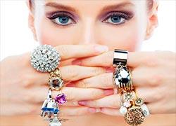 бижутерия, кольца