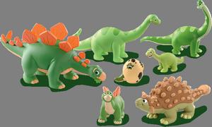 динозавры, игрушки