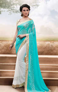 aqua blue, мода