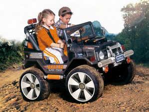 дети, электромобиль
