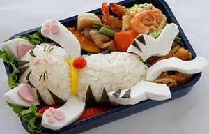 бенто, японская кухня, блюдо