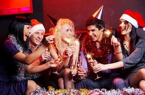 новый год, праздник, друзья