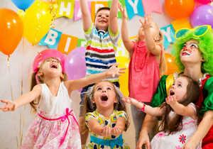 дети, игра, воздущные шары