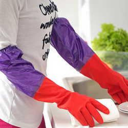резиновые перчатки, мытье посуды