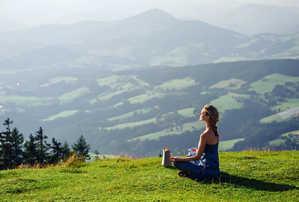 медитация, горы, дыхание