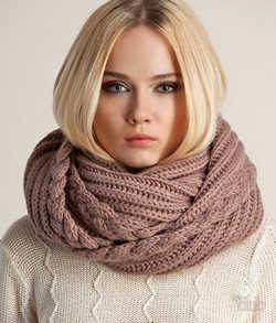 снуды, шарф